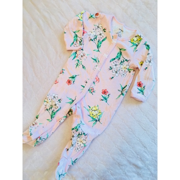 f6d2c29f1 Carter's One Pieces | Carters Floral Baby Jumperromper Footie ...